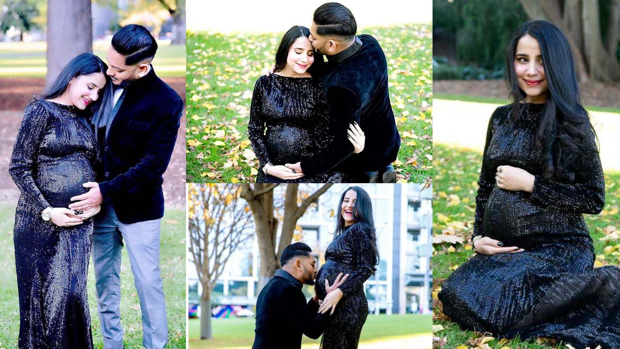 Sania Shamshad Expecting her first baby New Pictures with Husband