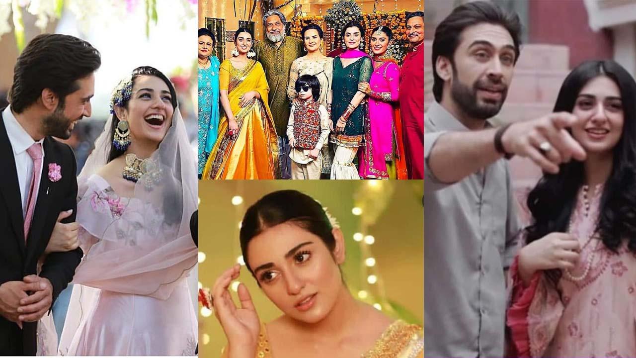 Sarah Khan and Ayeza Khan Together New upcoming Drama Pictures