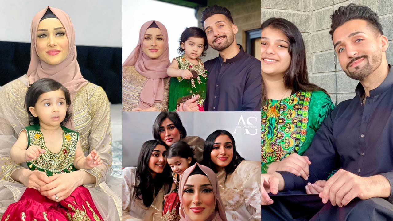 Sham Idress and Froggy new Pictures with their children and Family
