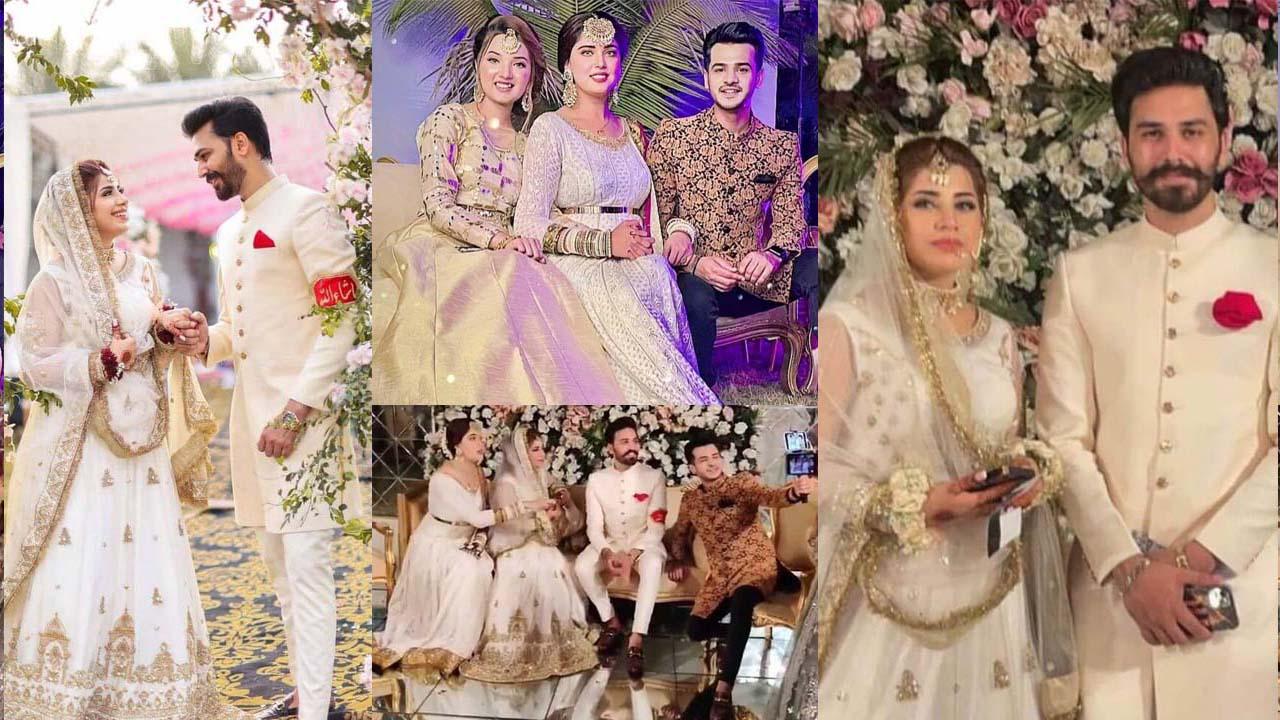 TikTok Star Dr. Madiha Khan and MJ Ahsan becomes Husband Wife Wedding Pictures