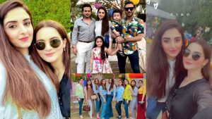 Read more about the article Aiman Khan at Friend Birthday Party Pictures looking More Cute