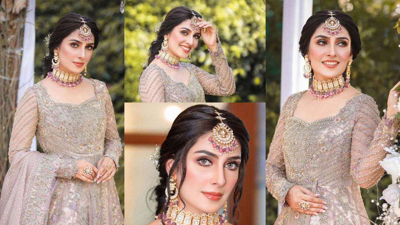 Ayeza Khan New Dulhan Look Pictures looking Adorable and Lovely