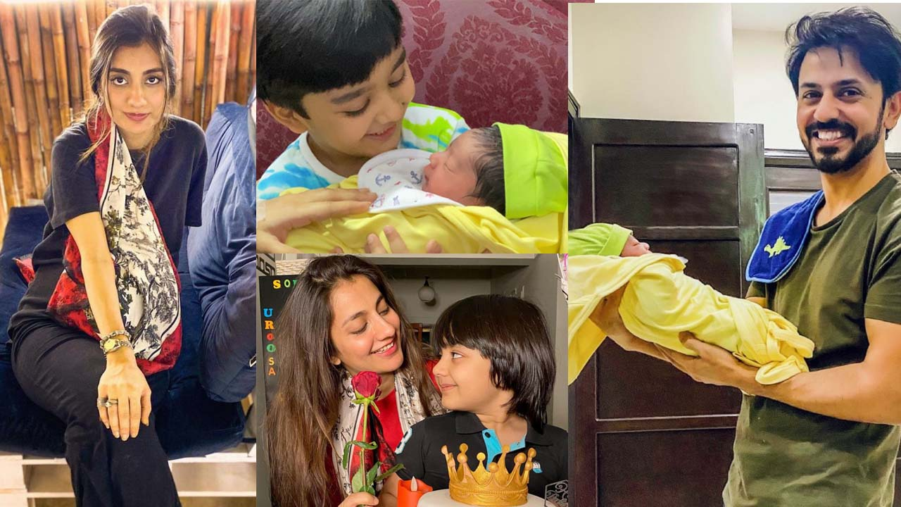 Bilal Qureshi and Uroosa Bilal Got a New Baby Pictures