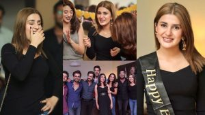 Read more about the article Kubra Khan Surprise Birthday Party Pictures with Showbiz Friends