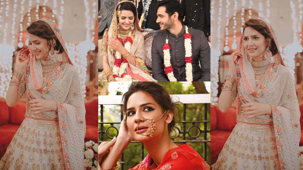 You are currently viewing Madiha Imam and Wahaj Ali Got Married in Drama Jalebi Pictures