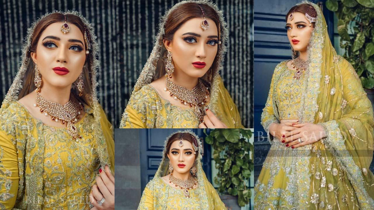 Momina Iqbal actress of Khuda Aur Mohabbat New Bridal look