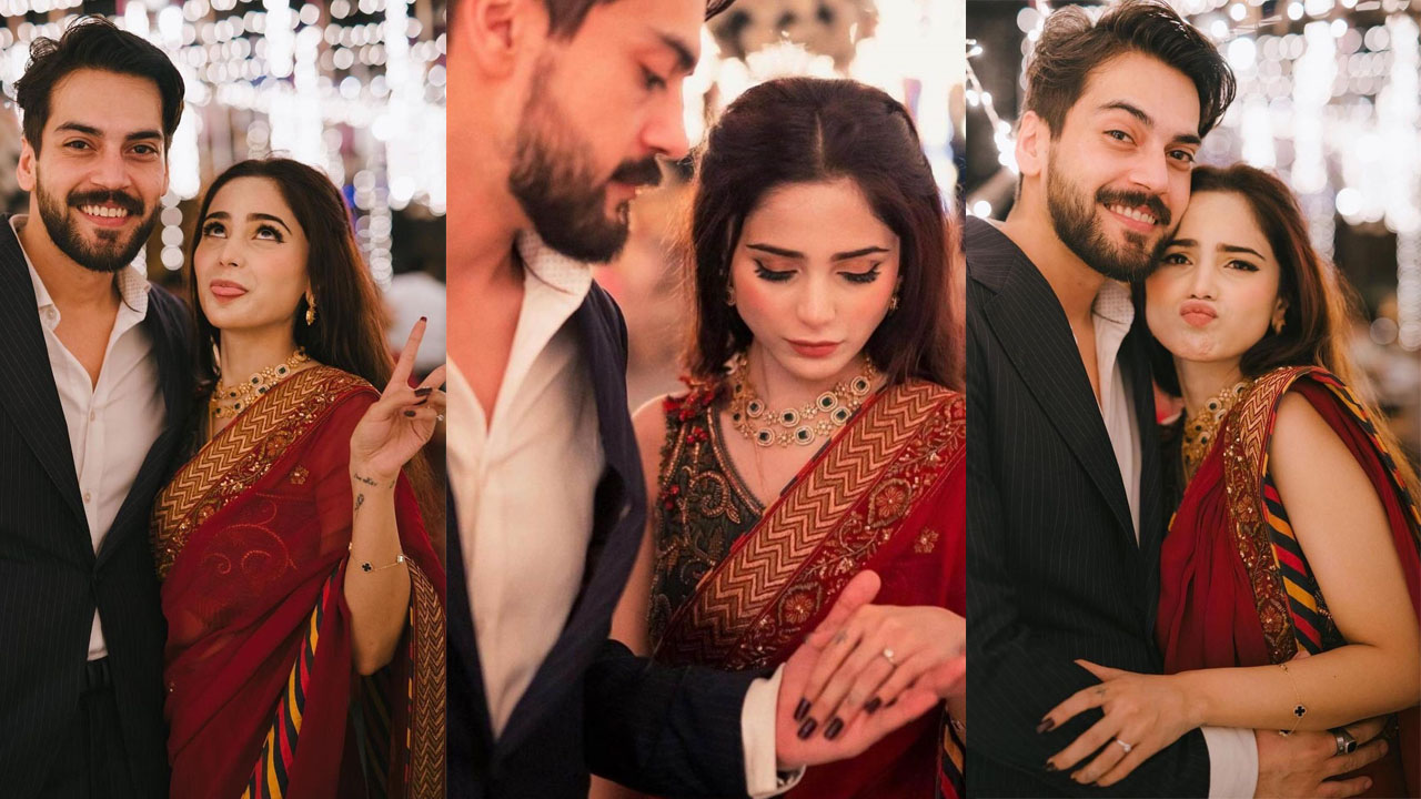 Read more about the article Aima Baig Officially Engaged with Shehbaz Lovely Event Pictures