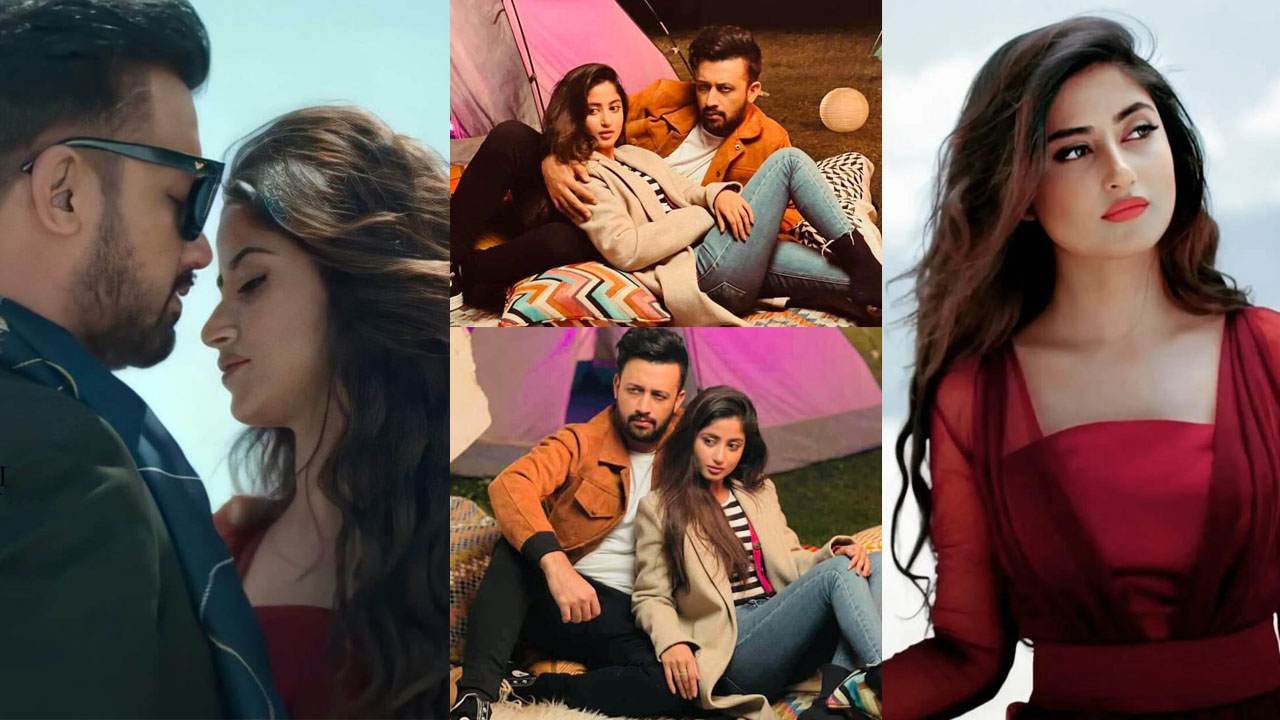 Read more about the article Atif Aslam and Sajal Ali working Together in Music Video