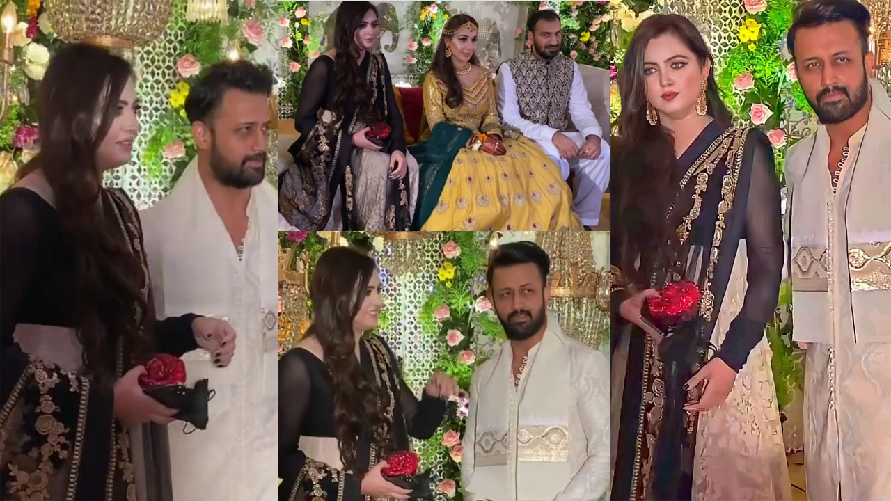 Read more about the article Atif Aslam and Sarah Both Cute Husband and Wife Lovely Pictures on Wedding