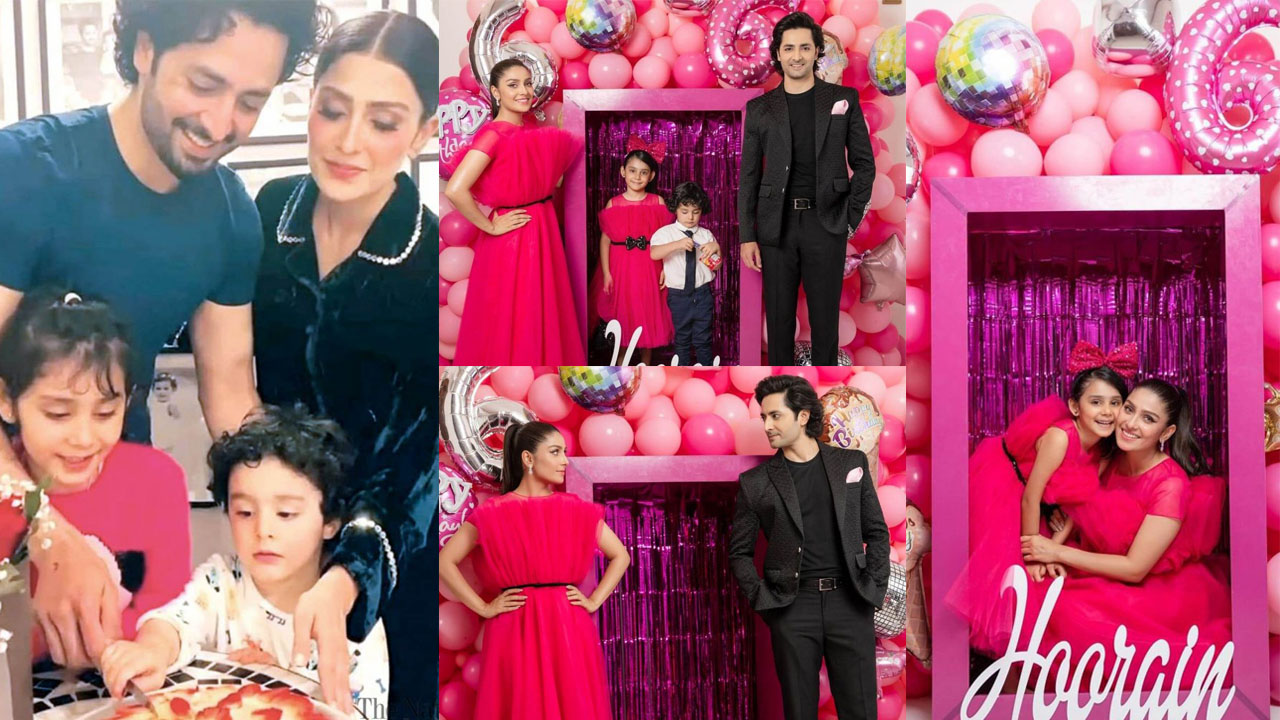 You are currently viewing Ayeza Khan celebrating her Daughter Birthday with Family Pictures