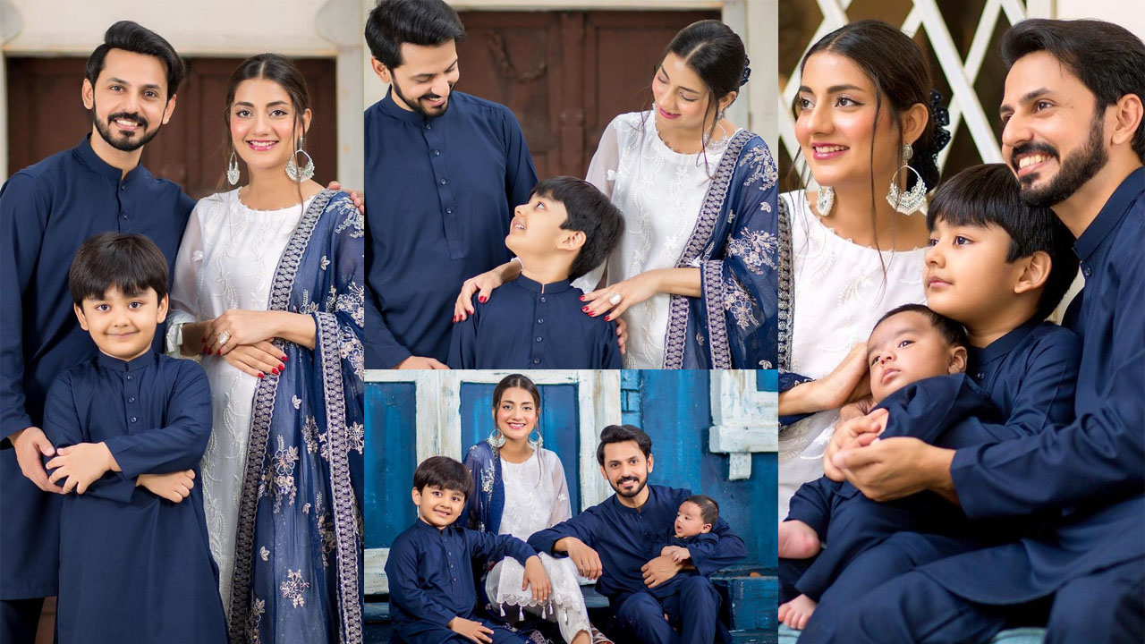 You are currently viewing Uroosa Bilal and Bilal Qureshi Family Iconic Pictures on Eid Ul Adha