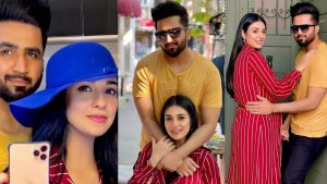 Read more about the article Sarah Khan and Falak Shabbir Romantic Clicks in Unique Dress