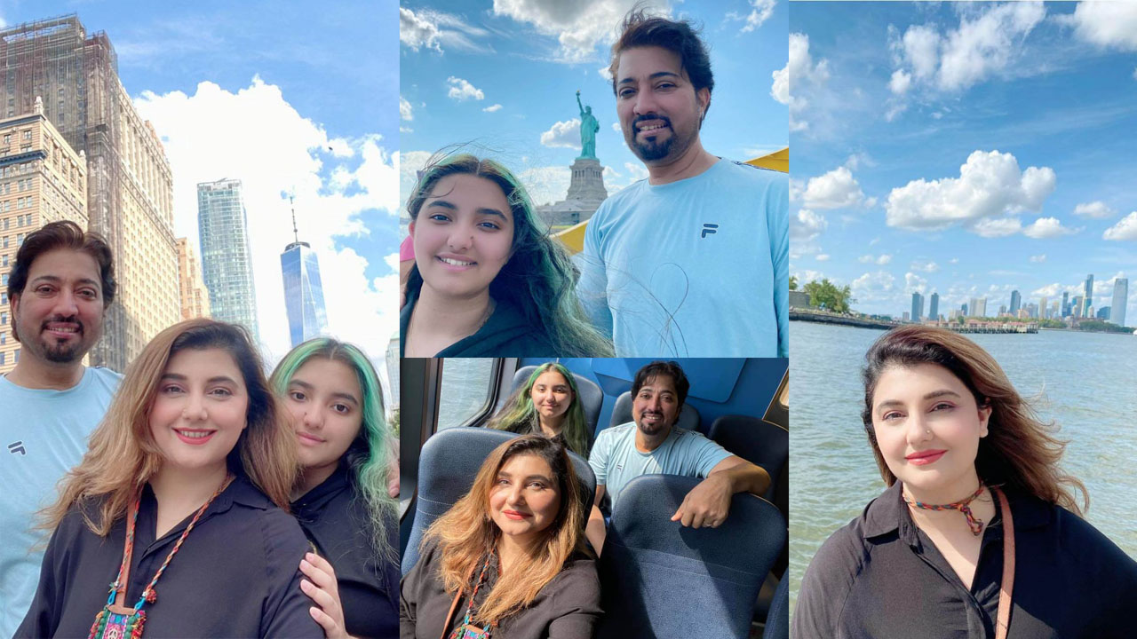 Read more about the article Javeria Saud and Jannat Enjoy Holidays with family New Pictures