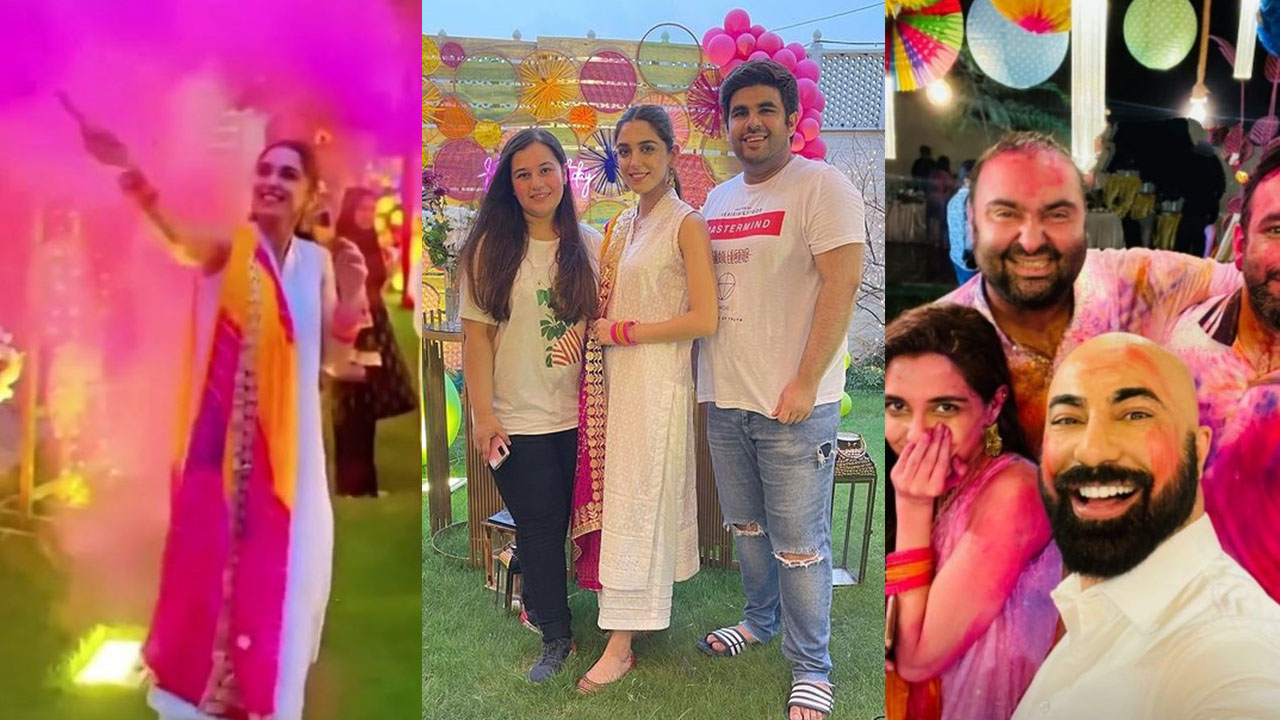 Read more about the article Maya Ali Birthday Pictures looking adorable with friends