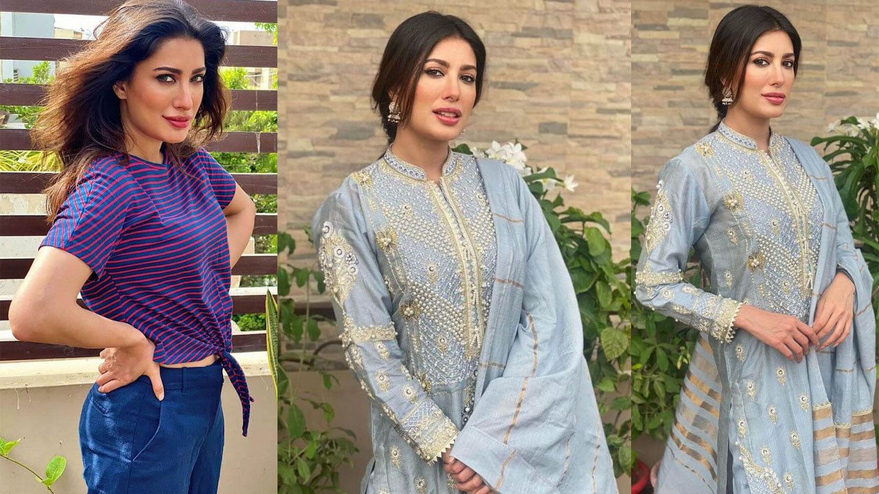Read more about the article Mehwish Hayat Single ActressNew Clicks after done the Lip Surgery