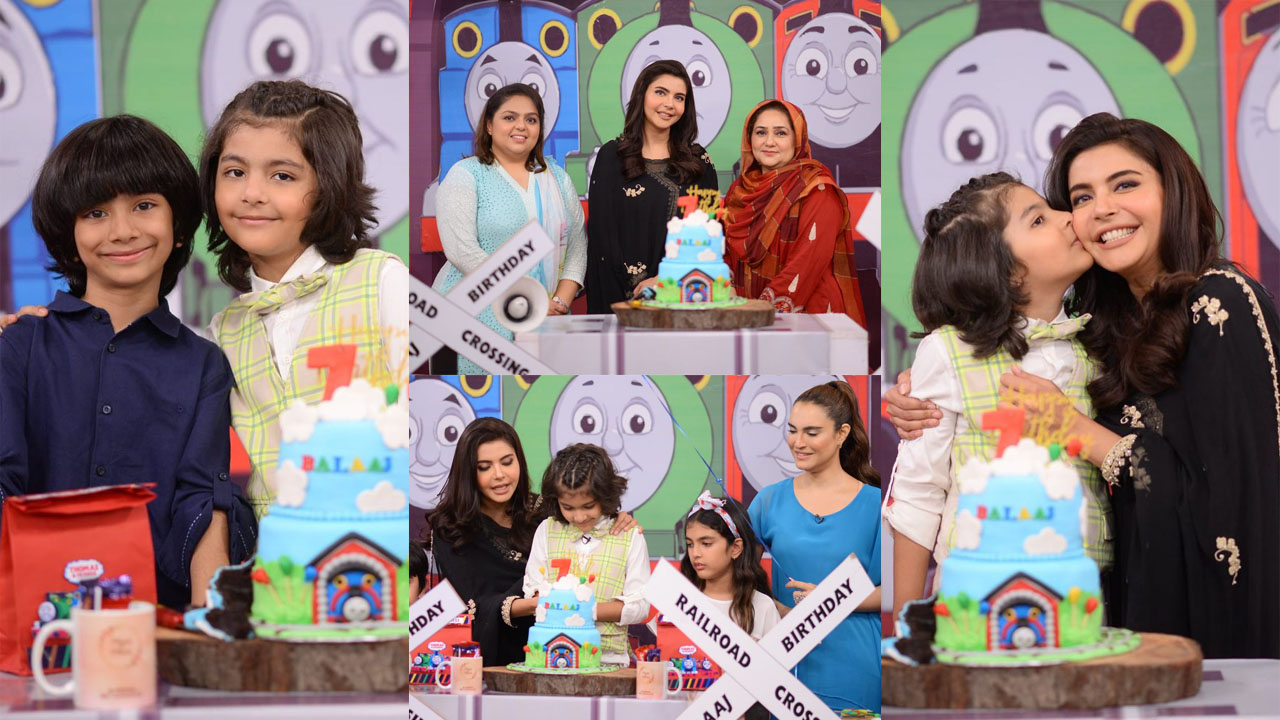 Read more about the article Nida Yasir Celebrating her Son 7th Birthday lovely pictures