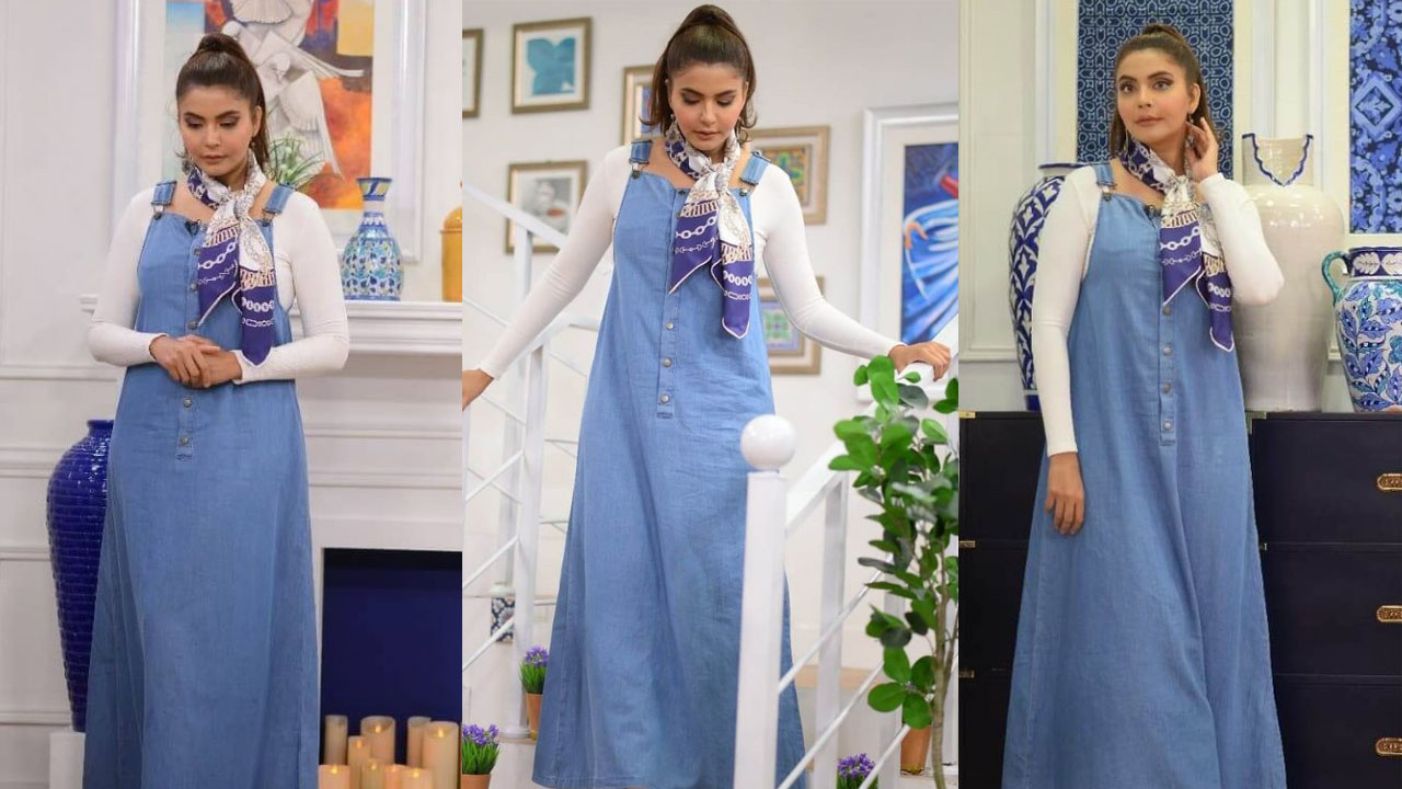 You are currently viewing Nida Yasir Looking a School Girl in her recent dressing Pictures