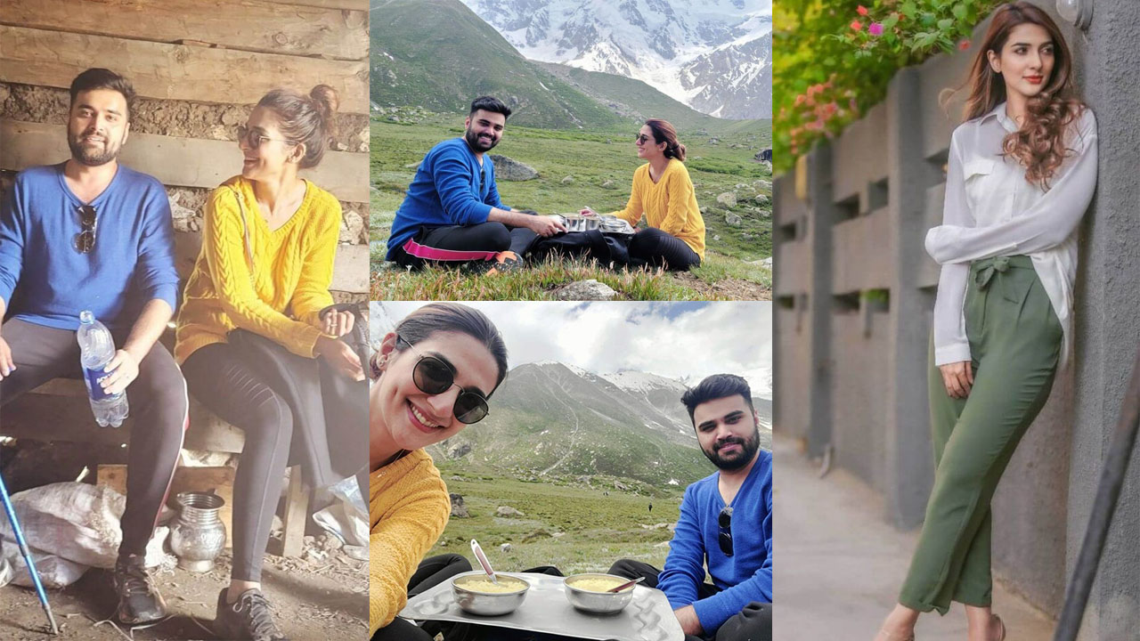 You are currently viewing Rabab Hashim Enjoying Vacation with her Best Husband Pictures