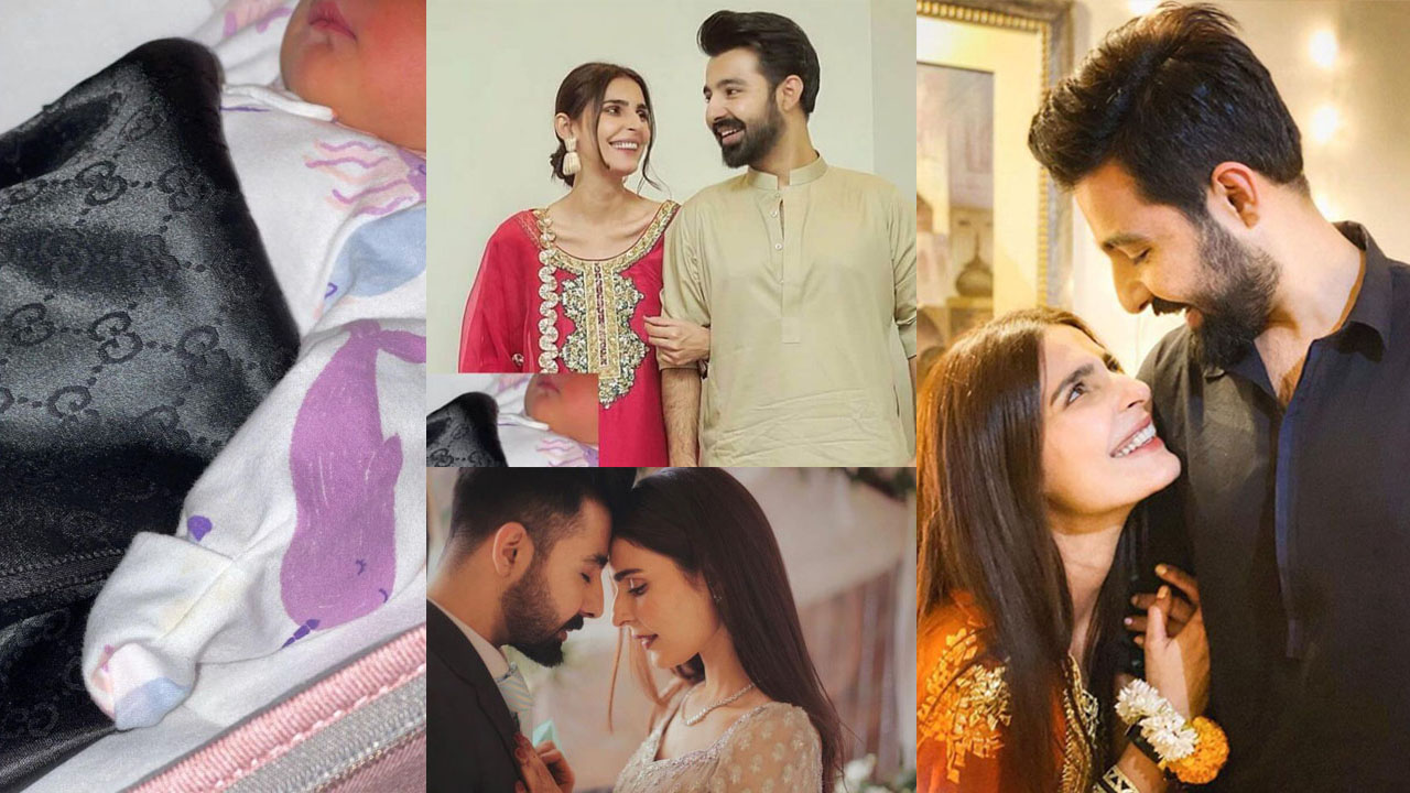 You are currently viewing Sadia Ghaffar senior actress first baby pictures with Family
