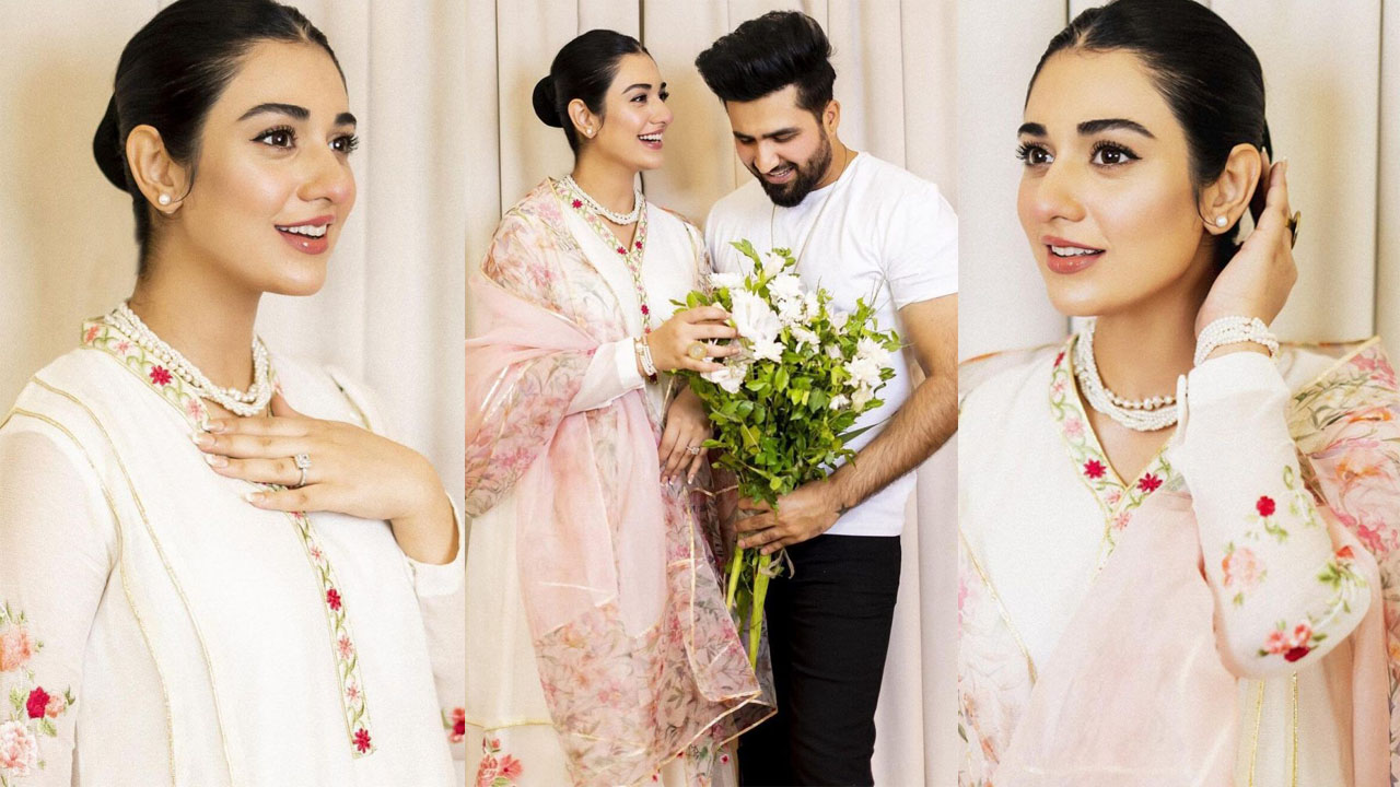 Read more about the article Sarah Khan and Falak Shabbir Eid Day Lovely pictures Together