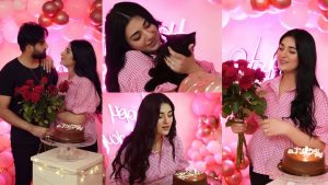 Read more about the article Sarah Khan Celebrating her Birthday with her Lovely Husband Falak Shabbir