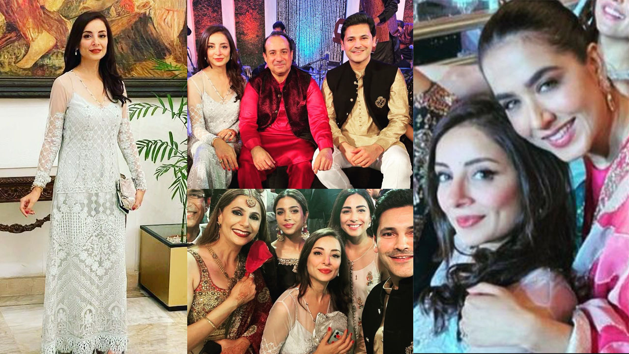 You are currently viewing Sarwat Gilani and Fahad looking adorable at Wedding Event Pictures