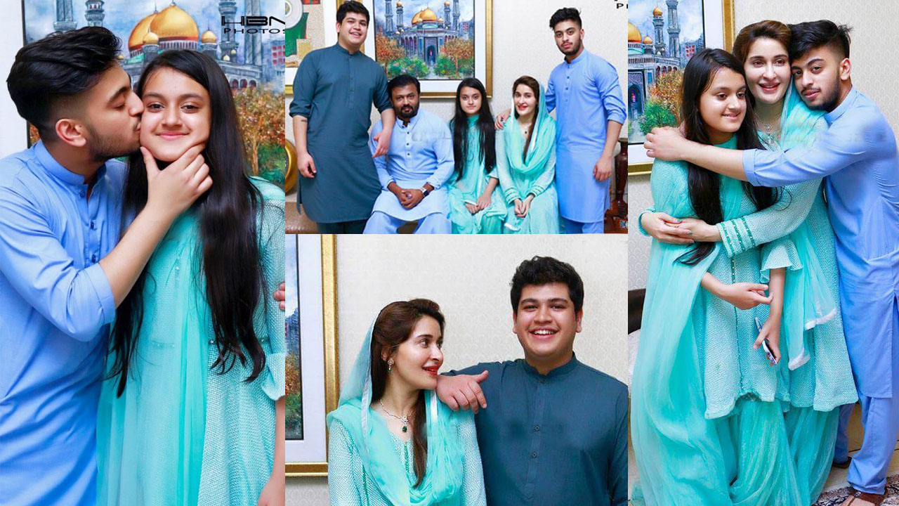 Read more about the article Shaista Lodhi Some family Pictures with her Sweet daughter and Son