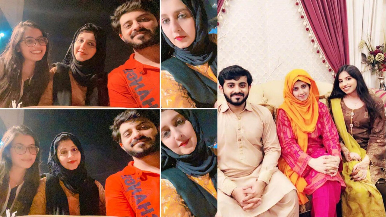 Read more about the article Bushra Iqbal 1st wife of amir Liaquat with her daughter and Son lovely Clicks