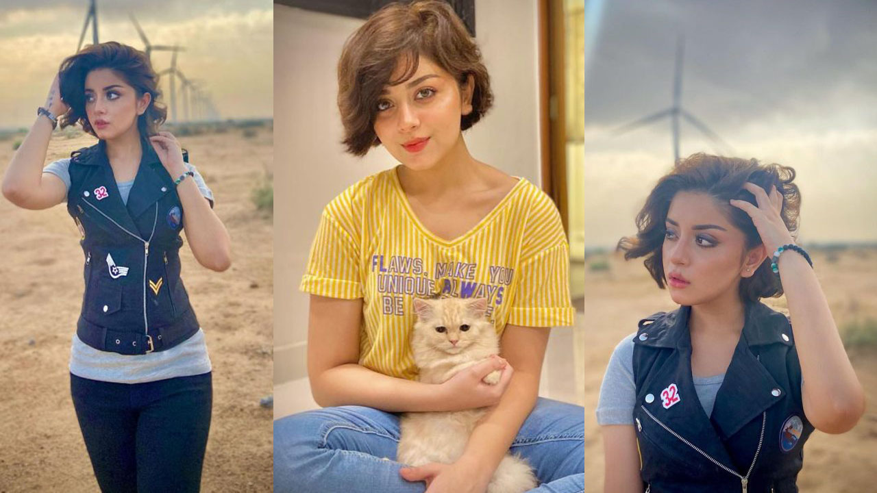 Read more about the article Alizeh Shah Cute Looks in her Long Hair Lovely Pictures