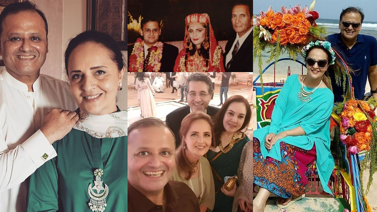 Read more about the article Hina Khawaja Bayat some unseen Pictures with Husband and Family