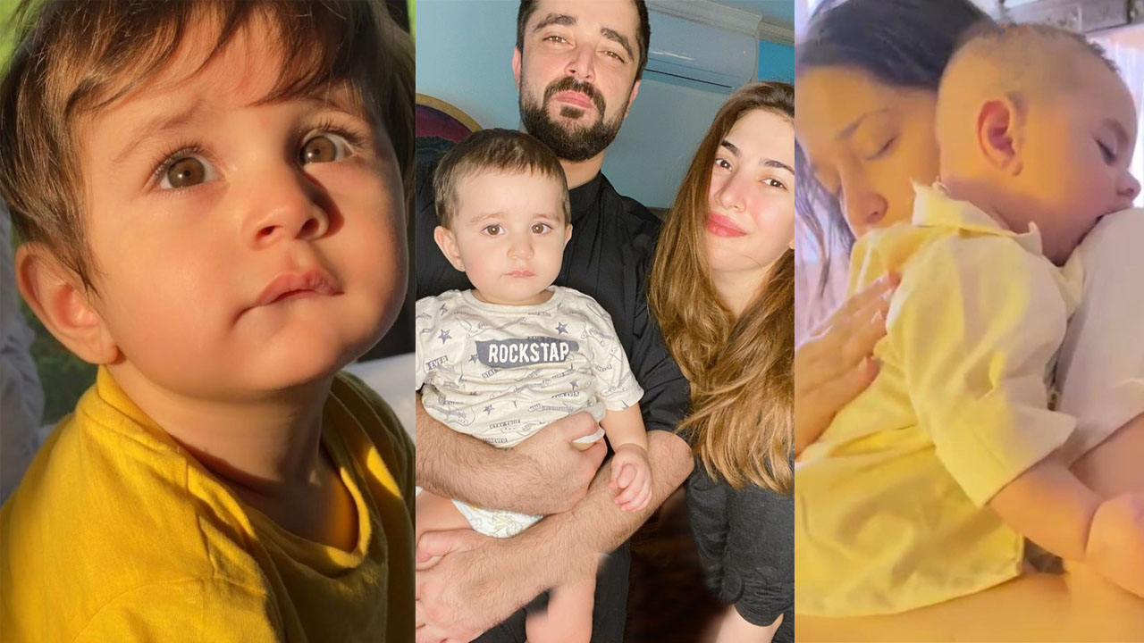 Read more about the article Naimal Kahwar celebrating her Son Mustafa Abbasi Birthday with her Husband