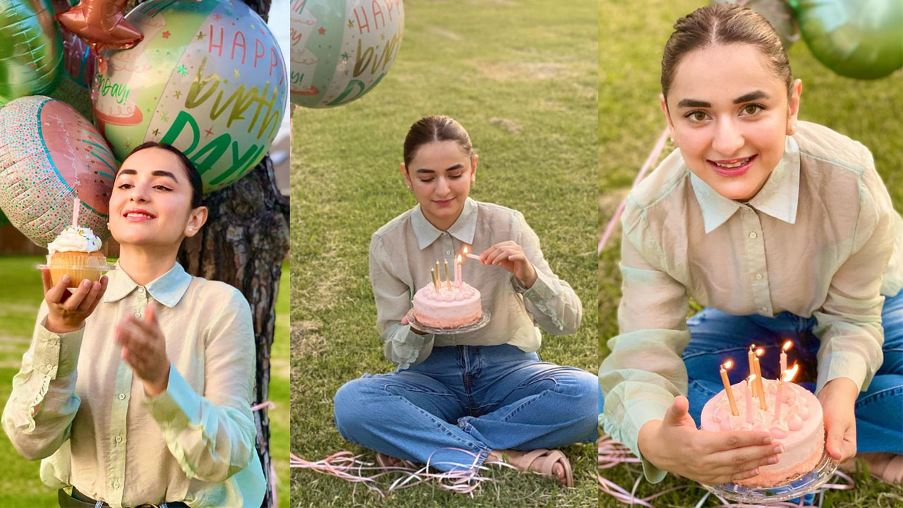 Read more about the article Yumna Zaidi Celebrating her 32th Birthday with Simple Style